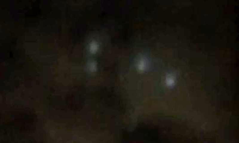 Fig. 2. Ufo di Bacoli.  Qui le sfere sono quattro.