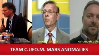 Il TEAM C.UFO.M. MARS ANOMALIES.