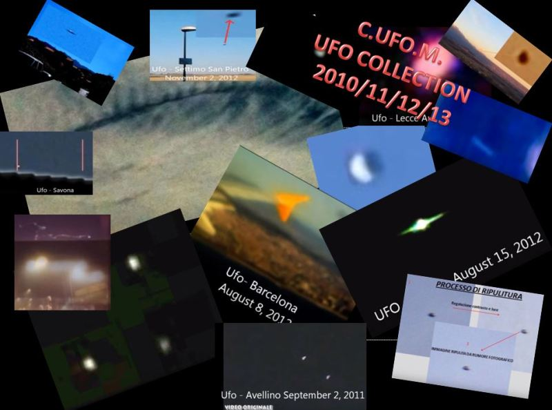 UFO COLLECTION C.UFO.M. 2010-11-12
