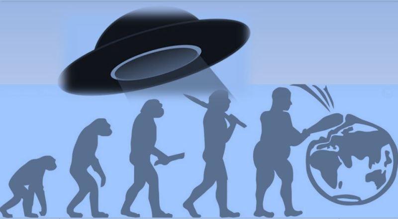 ALIENI EVOLUZIONE UOMO 1
