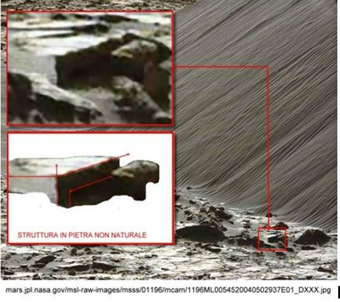 ANOMALIES ON MARS - 1