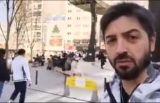 Cristiano Aresu autore del discusso video dal Giappone.