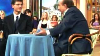 Il Presidente e Fondatore del C.UFO.M. dott. Angelo Carannante durante una puntata de I fatti vostri, trasmissione a cui l'ufologo ha partecipato molte volte.