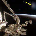 Lo strano ufo della diretta streaming NASA