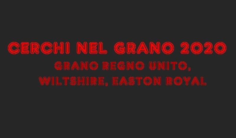 CERCHI NEL GRANO 2020 REGNO UNITO
