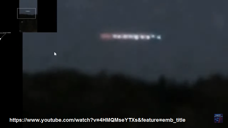 UFO RUSSIA, KRASNODAR. UNA FILE DI SFERE LUMINOSE (2)