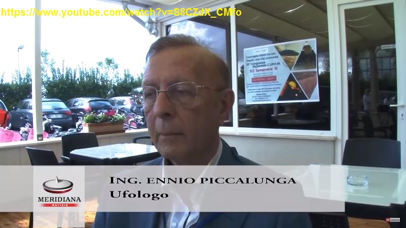 ENNIO PICCALUGA DURANTE UN'INTERVISTA AL CONVEGNO DI POMEZIA (2)