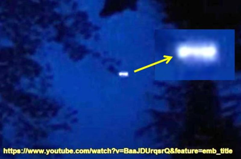 ufo sul lago Butterfield