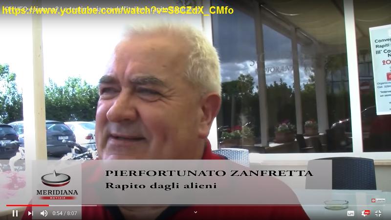 PIERFORTUNATO ZANFRETTA DURANTE UN'INTERVISTA AL CONVEGNO DI POMEZIA (2)