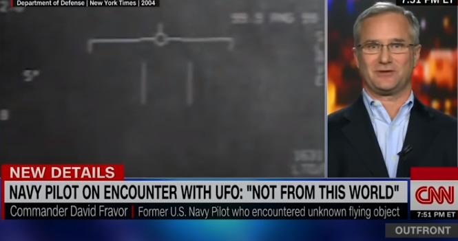 DAVID FRAVOR, TESTIMONE DELL'AVVISTAMENTO UFO TIC TAC