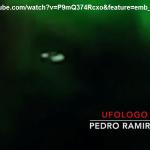UFO RIPRESO DALLE TELECAMERE DELL'ISS DURANTE UN'AURORA BOREALE