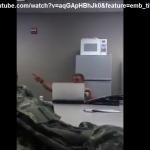 soldati americani che parlano di alieni