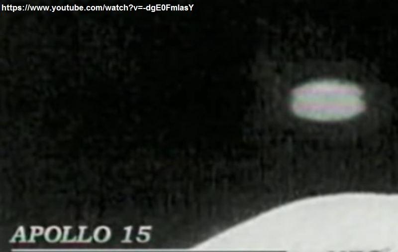UFO. FOTO MISSIONE APOLLO