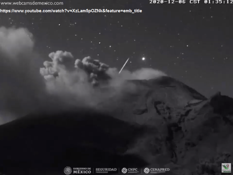 UFO MESSICO, POPOCATÉPETL (2)