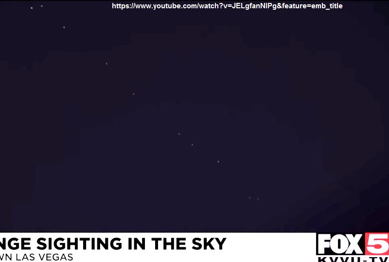 UFO NEVADA, LAS VEGAS, U.S.A. 12.02.2021