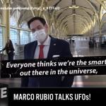 SENATORE REPUBBLICANO U.S.A. MARCO RUBIO PREOCCUPATO PER GLI UFO