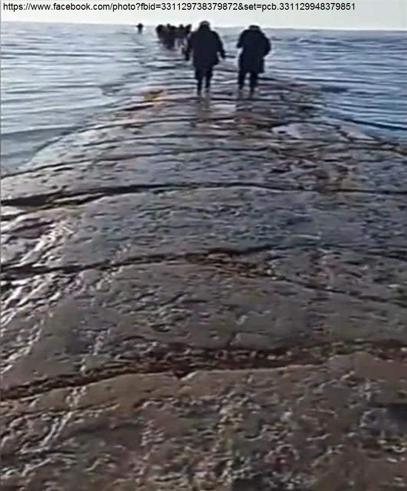 STRADA SOTTO L'OCEANO EMERSA A Sachalin - 1