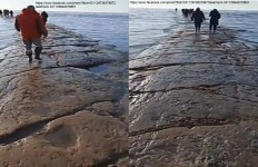 STRADA SOTTO L'OCEANO EMERSA A Sachalin - 2