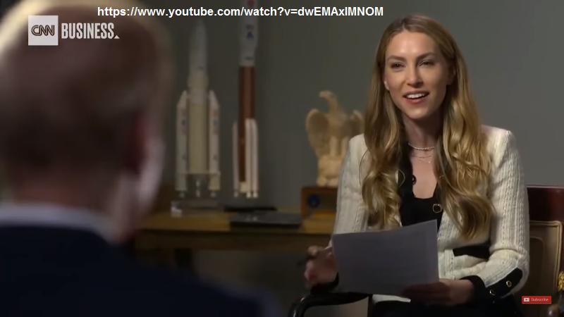 UFO U.S.A., CONDUTTRICE INTERVISTA CNN A BILL NELSON CAPO DELLA NASA