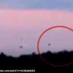 UFO FRANCIA, FORESTA DELLA DORDOGNA